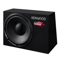 Kenwood KSC-W1200B - Subwoofer 300 mm, 1200 Watt