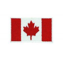Patch bandiera canadese canada ricamato...