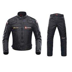 ANTLEP Tuta da Motociclista Giacca da Moto +...