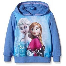 Disney - Felpa - Maniche lunghe - ragazza Blu...
