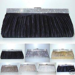 Pochette NERO CERIMONIA borsa elegante nera...