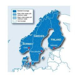 Garmin Scheda dati micro SD Scandinavia