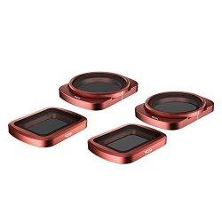 SKYREAT 4-Pack Set di filtri ND per obiettivo...