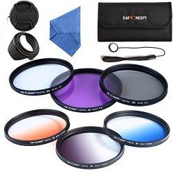 K&F Concept 58mm 6pcs Lente Filtro UV Accessorio...