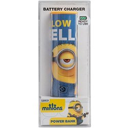 Tribe Minions 2600 mAh Power Bank Caricabatteria...