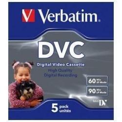 Verbatim DVC 60 Video cassette - Confezione da 5