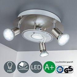 b.k. luce LED Lampada da soffitto con 4X 3W...