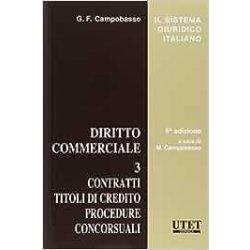 Diritto commerciale 3 di M. Campobasso