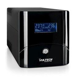 VulTech UPS2000VA-PRO Line Interactive Gruppo di...