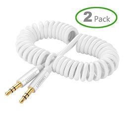Ugreen Cavo Audio Stereo a Spirale di 3,5mm...