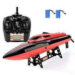 GizmoVine Barca RC ad alta velocità 2.4GHz 30mph...