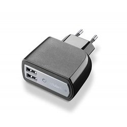 cellularline Dual 15W Caricabatterie da Parete...