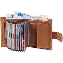 Woodland - portafoglio super-compatto con XXL...