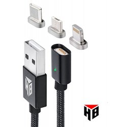 USB a Lightning, USB tipo C e cavo Micro USB. Il...