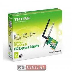 SCHEDA DI RETE PCI EXPRESS WIRELESS WIFI N 150...