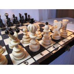 ChessEbook Gioco scacchi di legno PEARL LARGE 42...