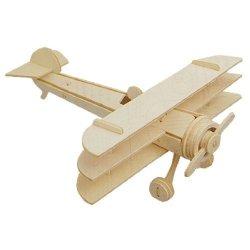 Dcolor Aereo Triplano Modello 3D in legno Sopwith...