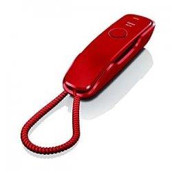Gigaset DA210 Telefono con Filo, Rosso