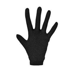 Sottoguanti in seta per guanti da moto, neri