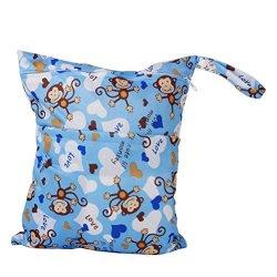 WINOMO con cerniera bambino panno pannolino borsa...