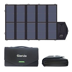 GIARIDE 18V 60W Caricabatterie Solare Sunpwer...