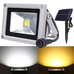 Bluelover 10W Solar Power LED Flood luce...
