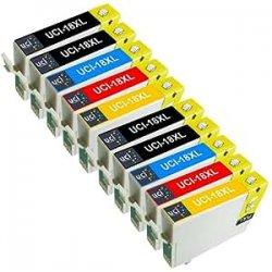UCI 10 Compatibile Epson 18XL Cartucce...