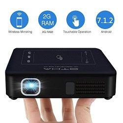 OTHA Mini Proiettore Portatile 200ANSI Lumens,...