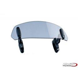 Puig 4639/W deflektoren regolabile parabrezza trasparente