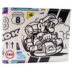 Nintendo Mario Kart sponsor Logo bianco...