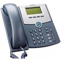 CISCO 1 Line IP - Telefono con display PoE e...