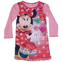 Disney - Camicia da notte - ragazza rosa 8 anni
