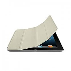 Apple Smart Cover in Pelle per iPad, Crema