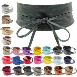 Cintura bandana grande con laccetti donna vita...