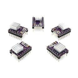 UEETEK 5 pezzi DRV8825 Modulo a 4 strati del...
