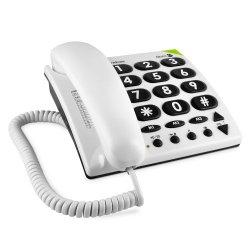 Doro PhoneEasy 311c Telefono, Bianco