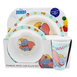 Disney 1425 1486 - Set di stoviglie per bambini,...