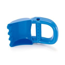 Hape - Scavatrice Manuale, Blu