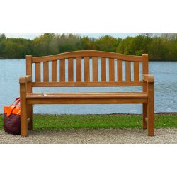 Commercial Wooden Park Bench 3 Seater Quality...