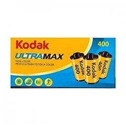 Kodak ULTRA MAX 400 Rullino, Confezione da 3 pezzi