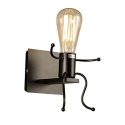KAWELL Creativo Vintage Lampada da Parete...