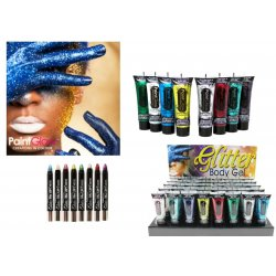 NEW Paintglow Glitter Gel and Paint Sticks for...