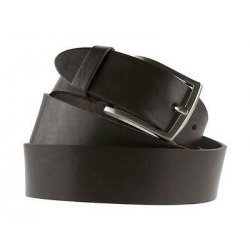 Cintura da uomo in cuoio testa di moro 4 cm...