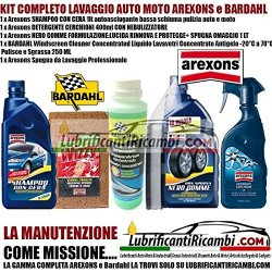 Kit Pulizia Auto Moto Arexons Bardahl - SHAMPOO...