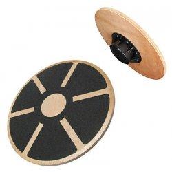Non-Slip Wooden Wobble Balance Board 40cm -...