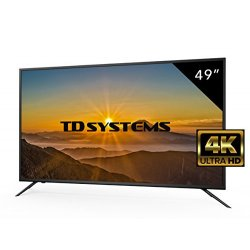 TV 49 Pollici HD LED TD Systems Televisori Ultra...