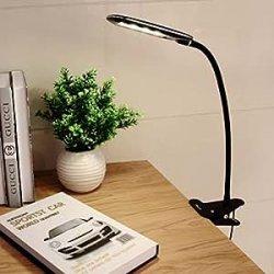 OxyLED® T33 Clip-on Lampada da Tavolo 24 LED,...