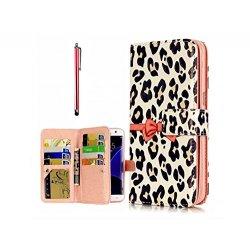 KSHOP Case Cover per iPhone 7 plus Caso PU Pelle...