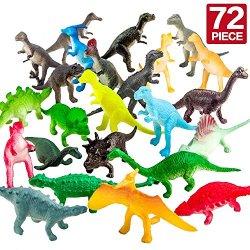 Figura Dinosauro, 72 Pezzi Mini Giocattoli...