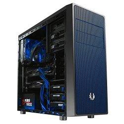 BitFenix Neos Midi-Tower - schwarz/blau, ohne...
